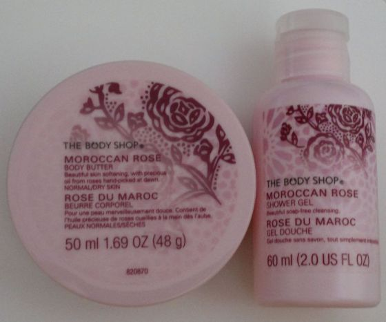 Body Shop Moroccan Rose
