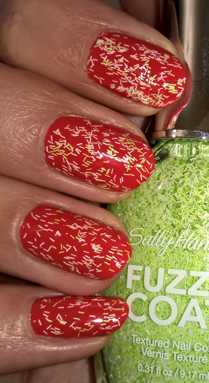 Nail Of The Day – Orly Terracotta & Sally Hansen Fuzzy Coat 600 ...