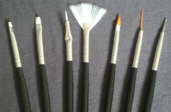 Allura Nail Art Brushes