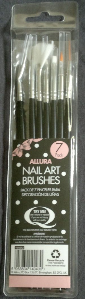 Allura Nail Art Brushes