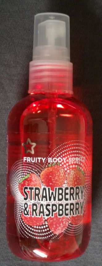 Superdrug Strawberry and Raspberry Fruity Body Spray