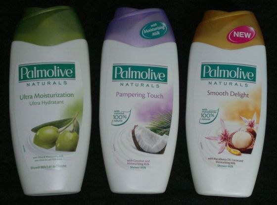 Palmolive shower milk