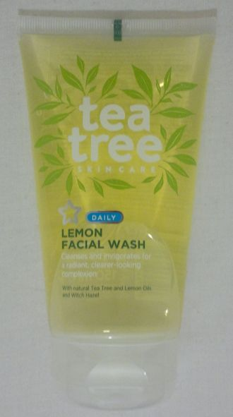 Superdrug Lemon Face Wash