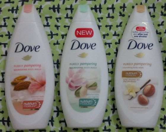 Dove Purely Pampering Shower