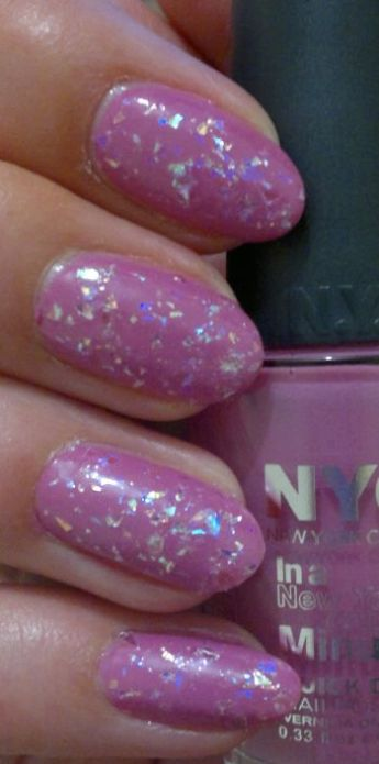 NYC Lincoln Square Lavender PLUS Color Club Covered In Diamonds