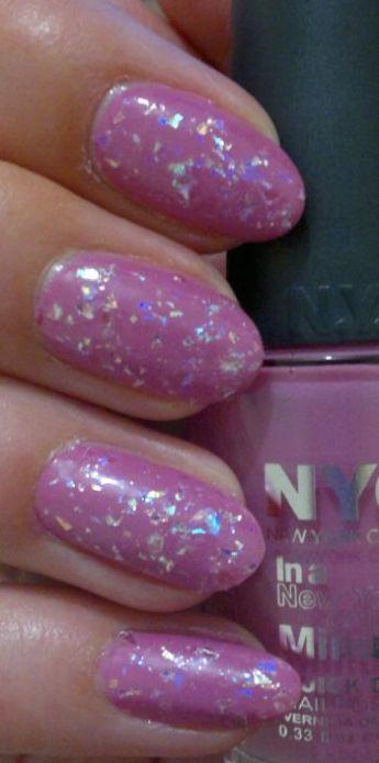 NYC Lincoln Square Lavender PLUS Color Club Covered In Diamonds
