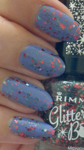 Rimmel Ultra Violet PLUS Rimmel Midnight Mistletoe
