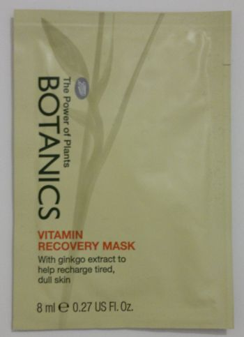 Boots Vitamin Recovery Face Mask