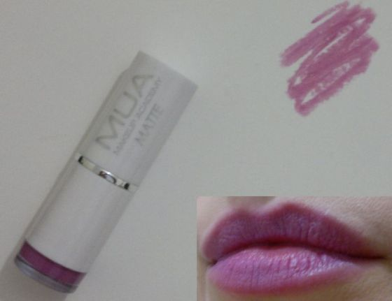 MUA Matte Lipstick Lilac Belle