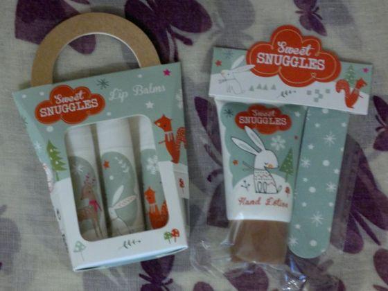 SD Sweet Snuggles Hand Nail Set