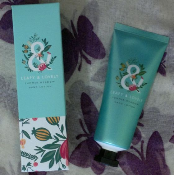 Superdrug Leafy Lovely Hand Cream