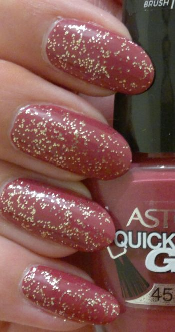 Astor Quick'N Go 321 gold glitter