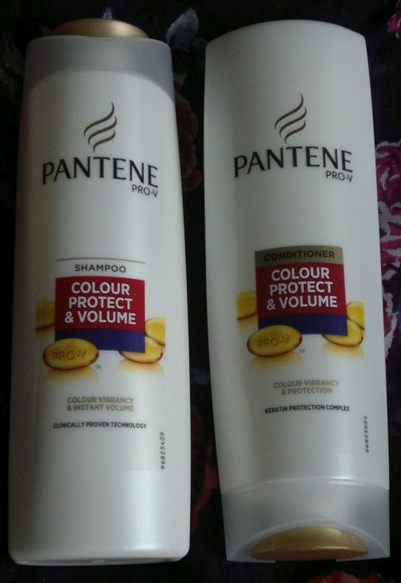 Pantene Pro V Colour Protect Volume Shampoo And Conditioner Mrs