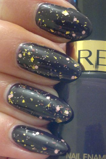 Revlon Plum Night Sally Hansen Splattered