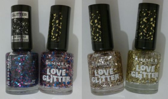 Rimmel Glitter Toppers
