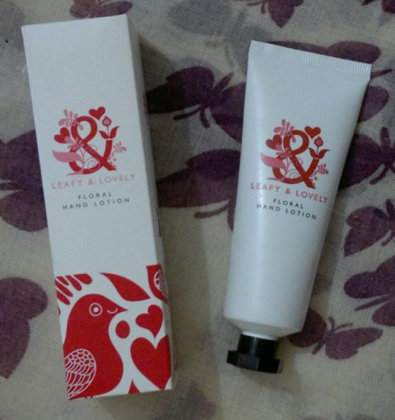 Superdrug Leafy Lovely Hand Cream 2