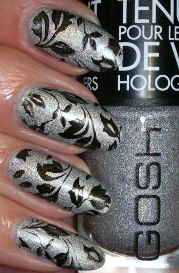 Gosh Holographic Hero and Stamping