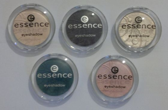 Essence Eyeshadows 1