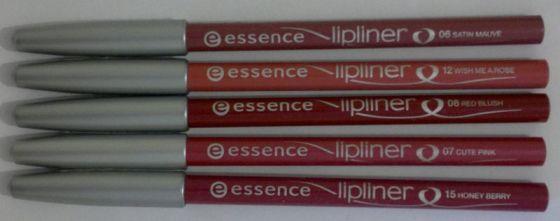 Essence Lipliners 1