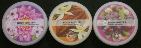 Superdrug Body Butters