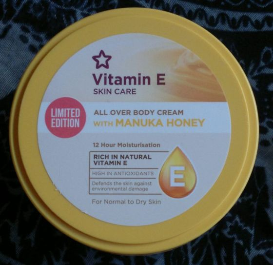 Superdrug Vitamin E Manuka Honey Cream
