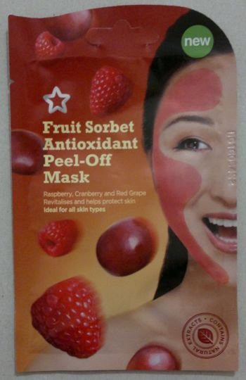 Superdrug Fruit Sorbet Face Mask