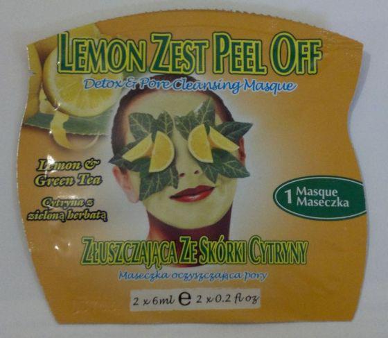 Montagne Jeuness Lemon Zest Mask