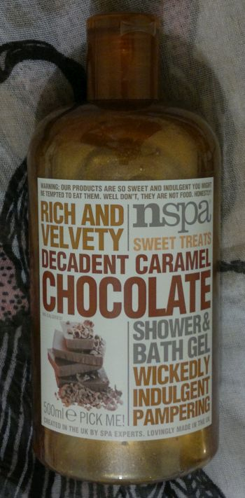 nspa caramel chocolate