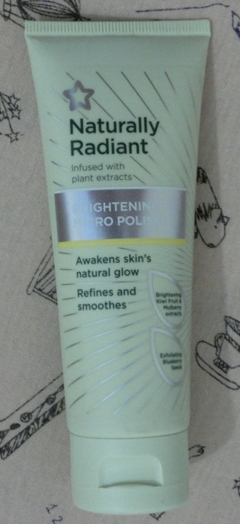 Superdrug Naturally Radiant Brightening Micro Polish