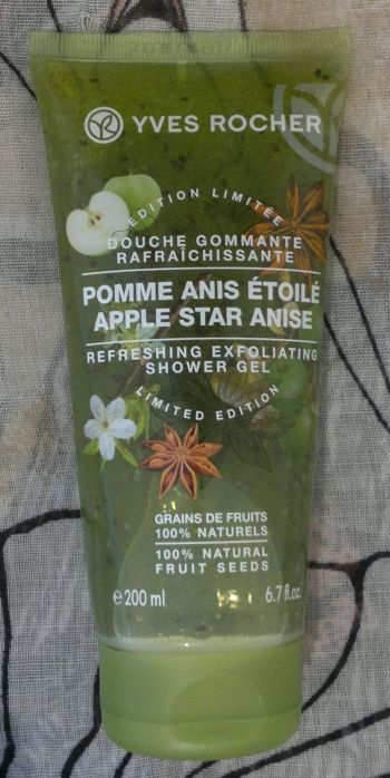 YR Exfoliating Shower Apple Anise