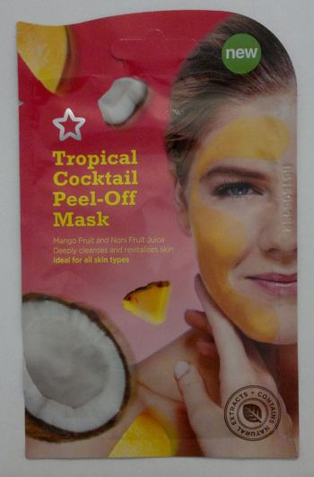 Superdrug Tropical Cocktail Peel Off Mask