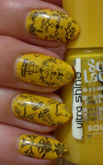Bourjois Jaune Trendy Stamping