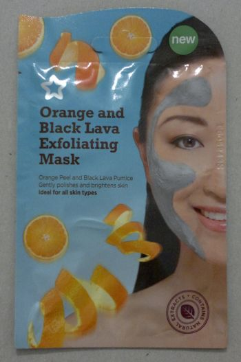 Superdrug Orange Black Lava Mask