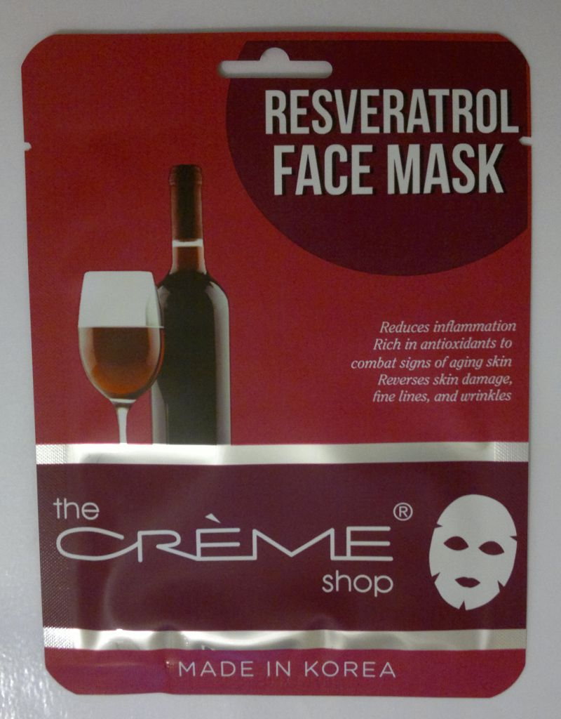 The Creme Shop Resveratrol Face Mask Mrs Strawberry Blonde